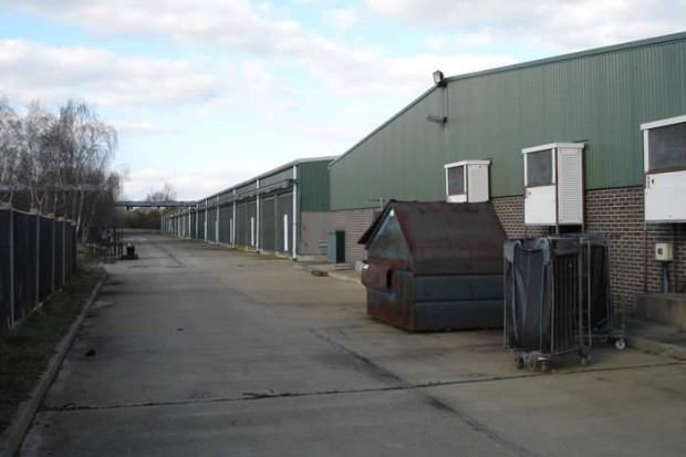 The purpose-built former mushroom farm has stood empty for over 6 years
