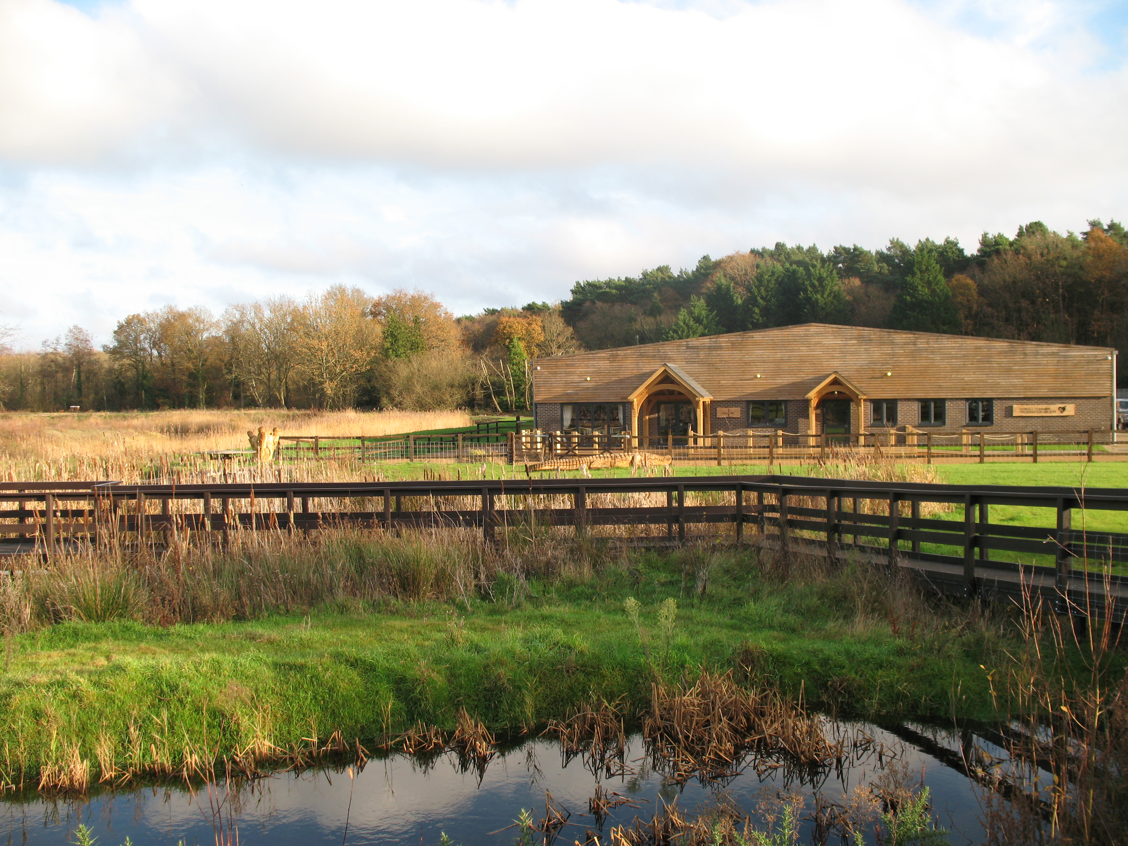 Heather Farm Cafe - Horsell Common Preservation Society