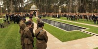 Minute silence observed by guests at opening of Muslim Burial Ground