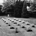 Headstones of the 27 service personnel buried at the site (Photo courtesy of the Commonwealth War Graves Commission)