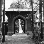 Entrance arch or Chatri in 1955
