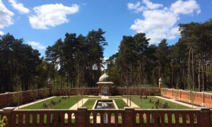 Peace Garden at the Muslim Burial Ground
